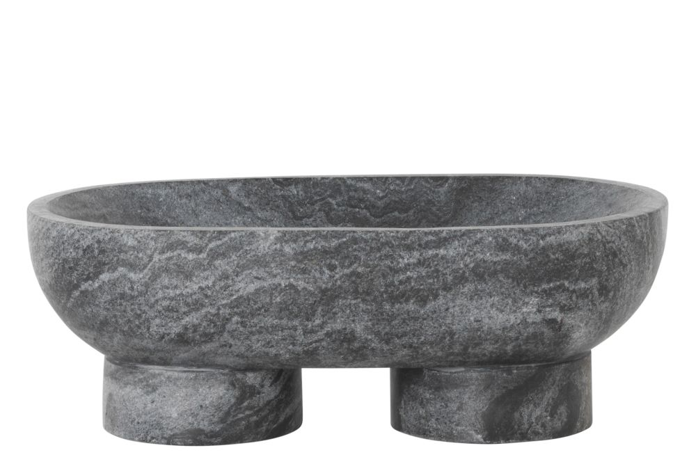 White,ferm LIVING,Bowls & Plates,bowl,granite