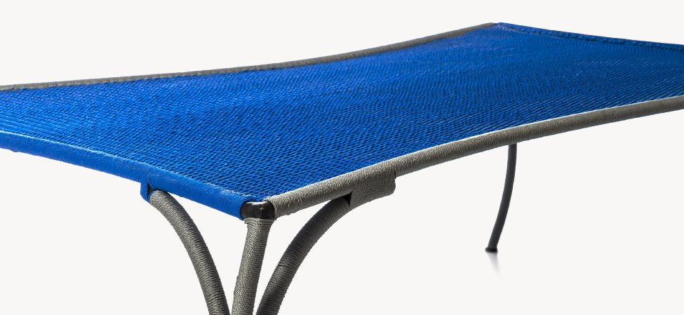 D Eau - Lagon, Small,Moroso,Coffee & Side Tables,cobalt blue,furniture,outdoor furniture,outdoor table,table