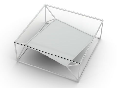 White (Base only, glass top can be ordered separately),Niche London,Coffee & Side Tables,display case,glass,product,table,transparent material