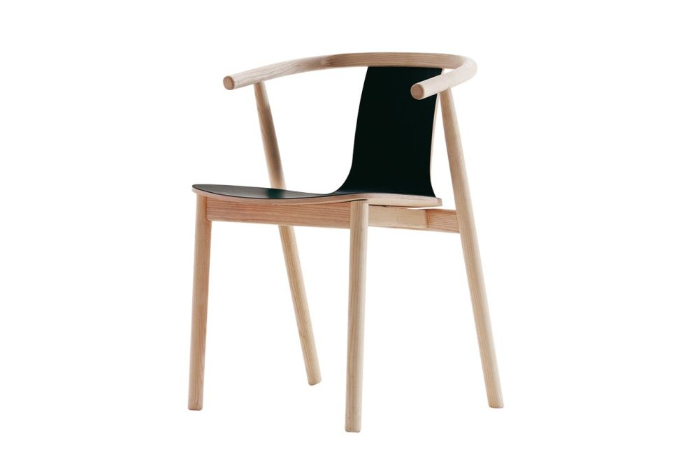Bac 1113, 340 Linoleum White,Cappellini,Dining Chairs,chair,furniture,plywood