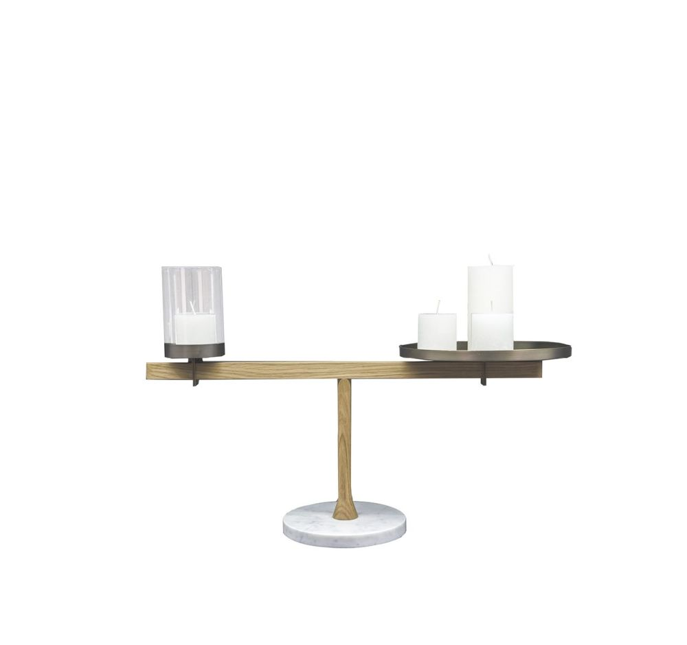 Balance Candleholder III by Driade
