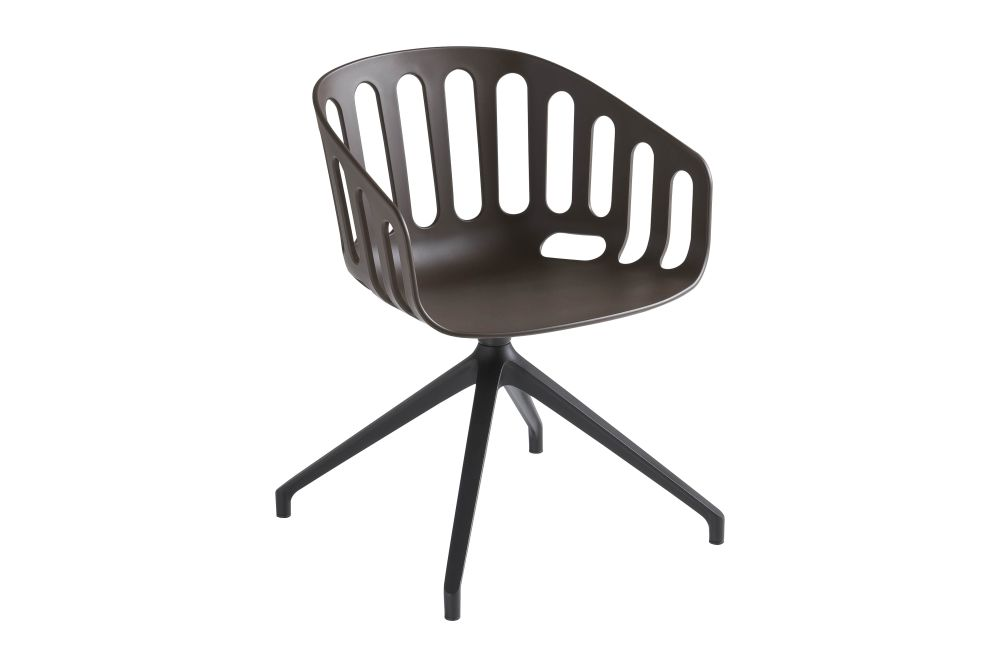 13 Brown, White-painted Metal,Gaber,Breakout & Cafe Chairs,chair,furniture,line,office chair,plastic