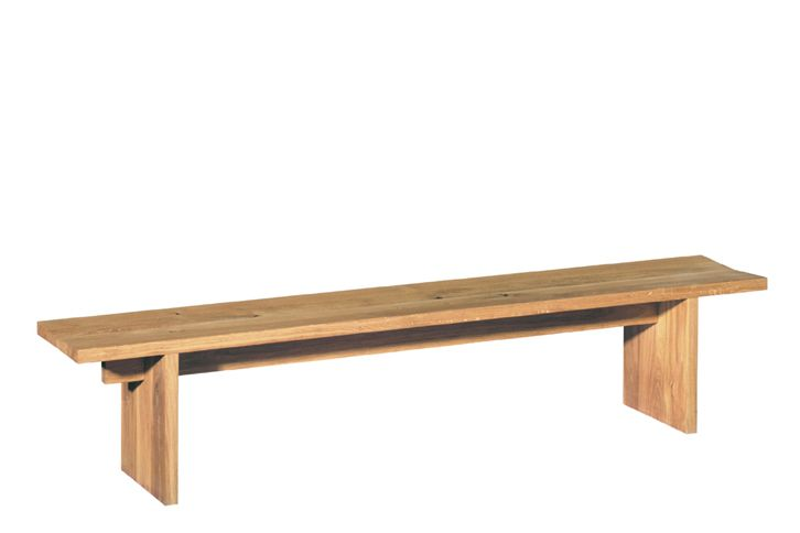 Oiled Oak, 180 cm,e15,Benches,bench,coffee table,furniture,hardwood,outdoor bench,outdoor furniture,outdoor table,plywood,table,wood