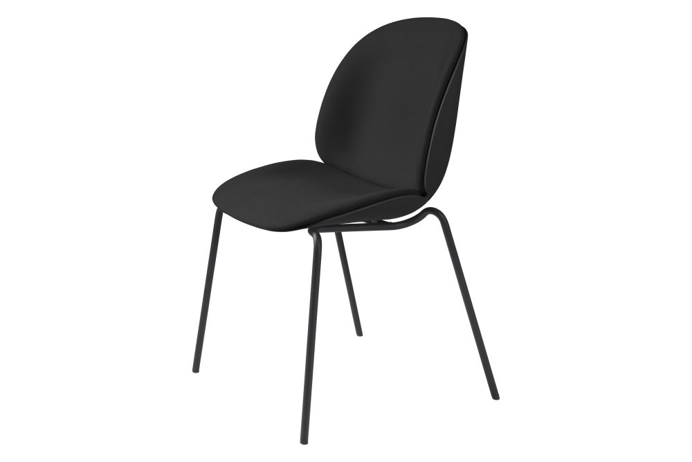 Gubi Metal Black Matt, Price Grp. 01,GUBI,Dining Chairs,chair,furniture,line,material property