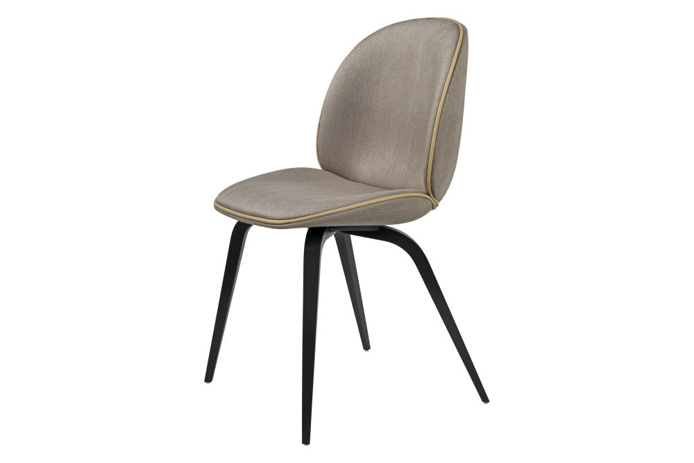 Gubi Wood American Walnut, Price Grp. 01,GUBI,Dining Chairs,beige,chair,furniture,line