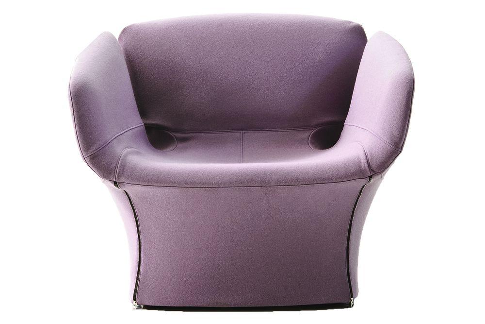 A1639 - Tonus 4 100 white,Moroso,Armchairs,chair,club chair,furniture,purple,violet
