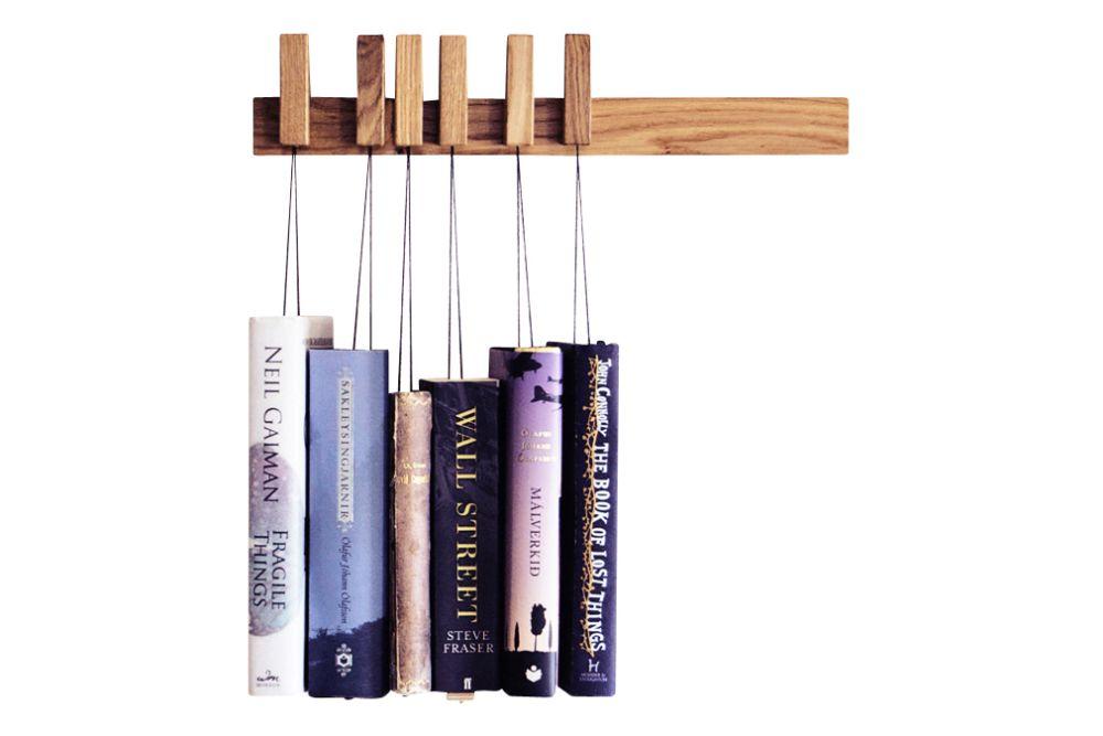 Oak, Dark Brown, Small,AGUSTAV,Bookcases & Shelves