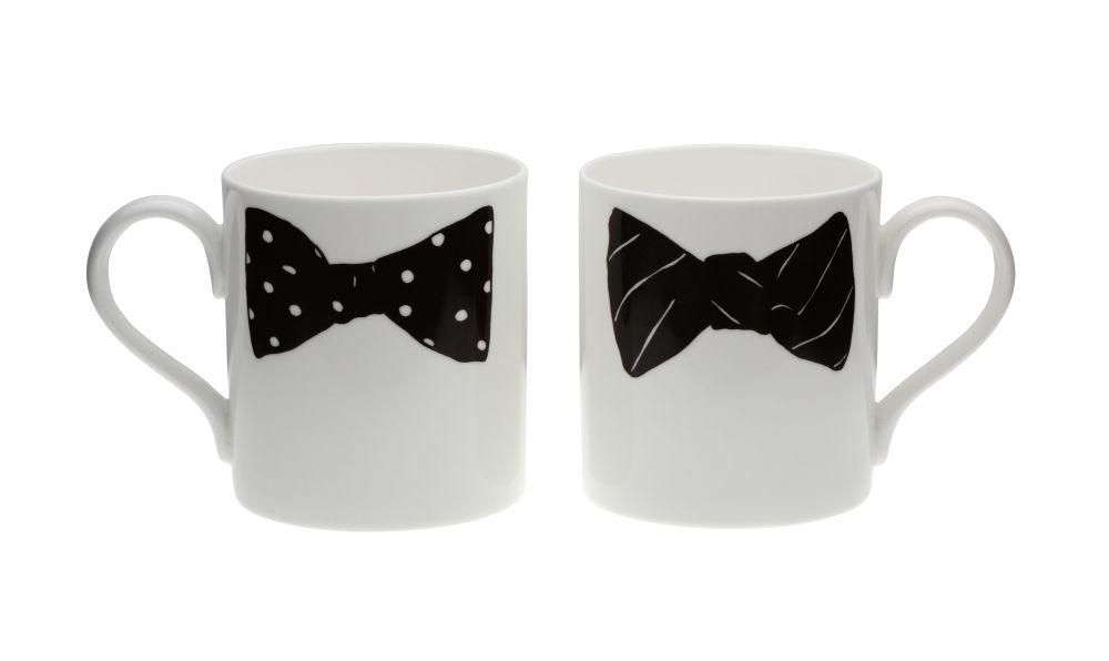 Peter Ibruegger Studio,Teapots & Cups,bow tie,cup,drinkware,mug,serveware,tableware,teacup
