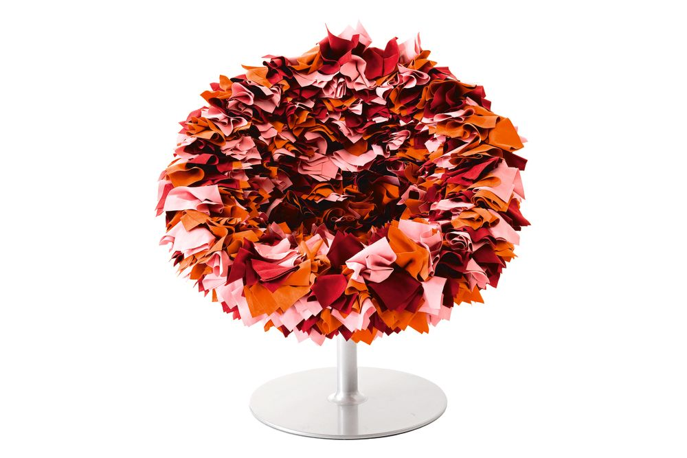 B001 Red, Cyclamen and Maroon,Moroso,Armchairs,cut flowers,leaf,orange,plant