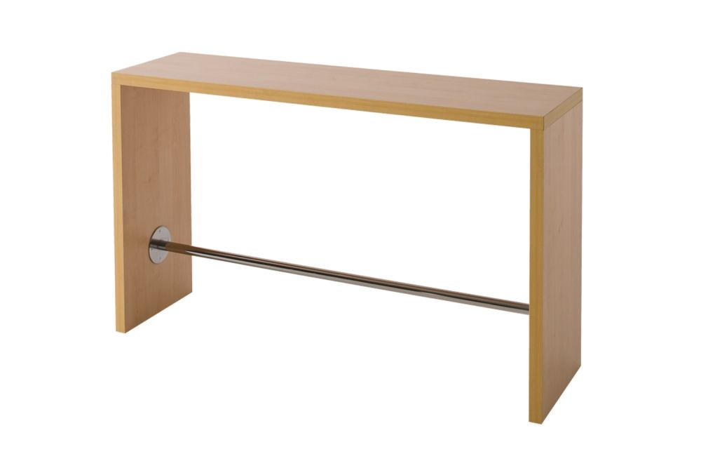 120, 00 White Laminate,Gaber,High Tables,desk,furniture,line,rectangle,shelf,sofa tables,table