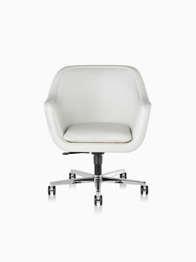 Polished aluminium,Herman Miller,Conference Chairs,beige,chair,furniture,line,office chair,product,white
