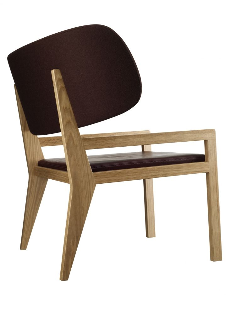 Oak Natural Lacquer, Elmo Baltique 93002, Europost 2 Colour 61052,Swedese,Lounge Chairs,chair,furniture,plywood,wood