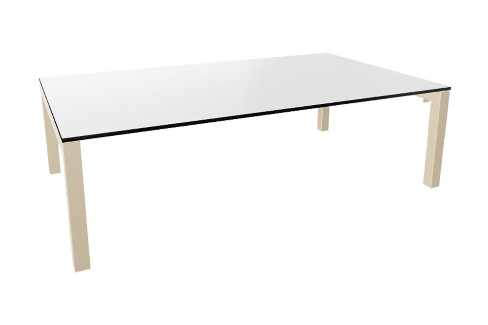 00 White Compact, 00 White,Gaber,Cafe Tables,coffee table,desk,furniture,line,outdoor table,rectangle,sofa tables,table