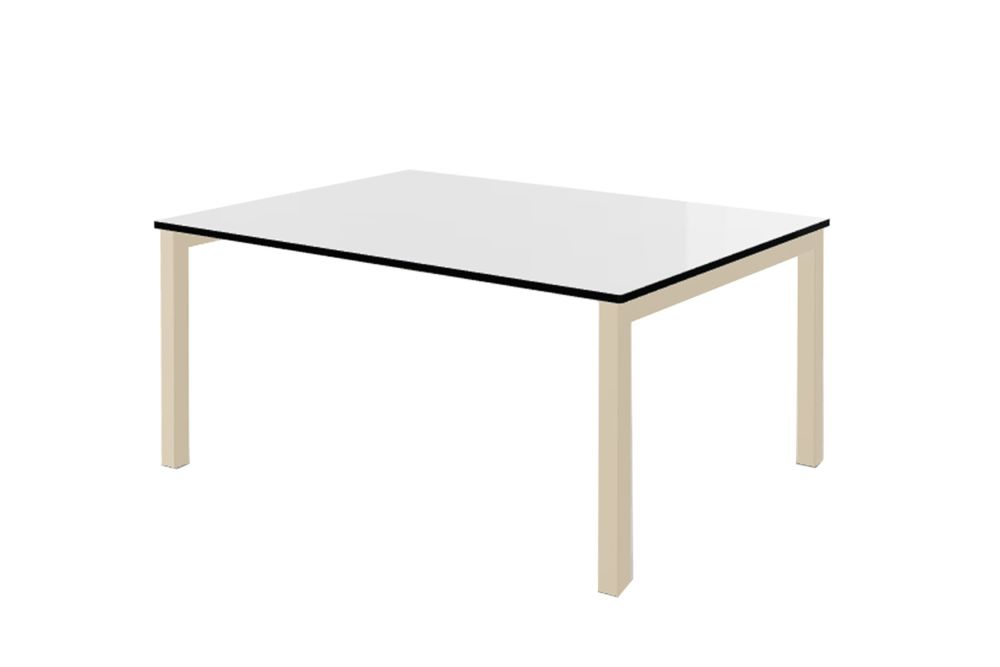 00 White Compact, 00 White, 60 x 80,Gaber,Cafe Tables,coffee table,desk,end table,furniture,line,outdoor table,rectangle,sofa tables,table