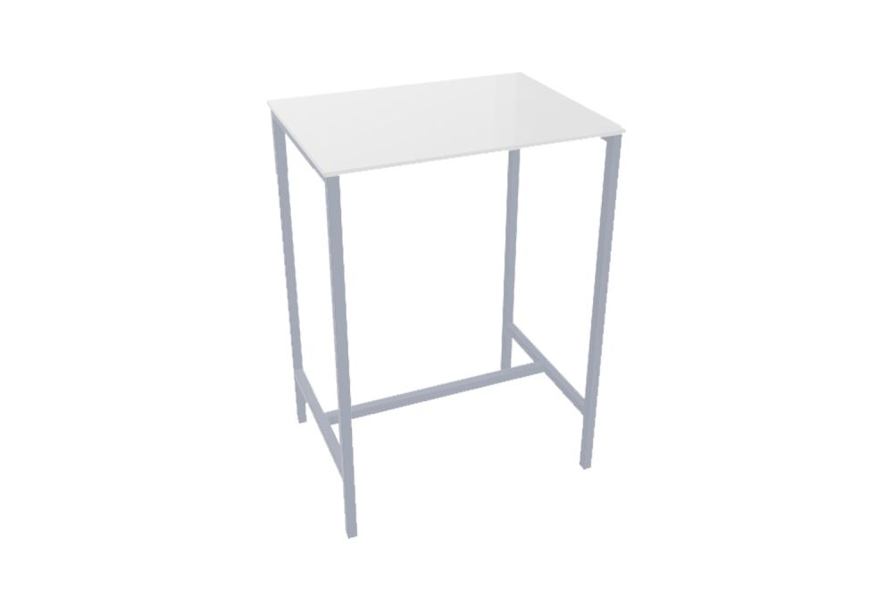 00 White, 60 x 80,Gaber,High Tables,desk,end table,furniture,outdoor table,table