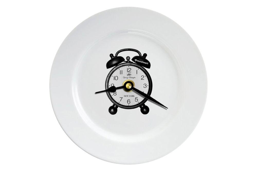 Paris,Mineheart,Clocks,clock,dishware,home accessories,plate,wall clock