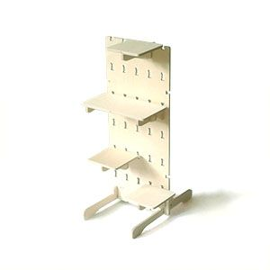 Standard panel with shelves and feet,Wayfarer Furniture,Storage Furniture,shelf