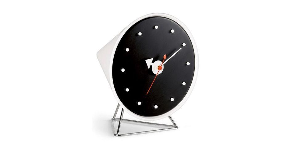 Cone Clock by Vitra