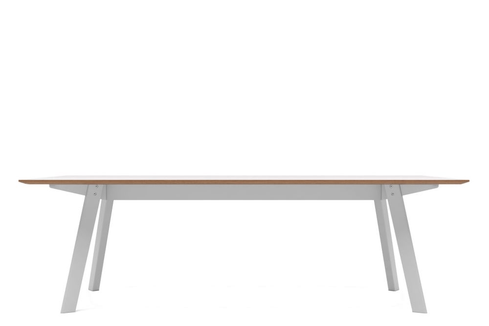 Oak veneer, RAL9016 - Traffic White,Modus ,Conferencing Tables,desk,furniture,line,outdoor table,plywood,rectangle,sofa tables,table