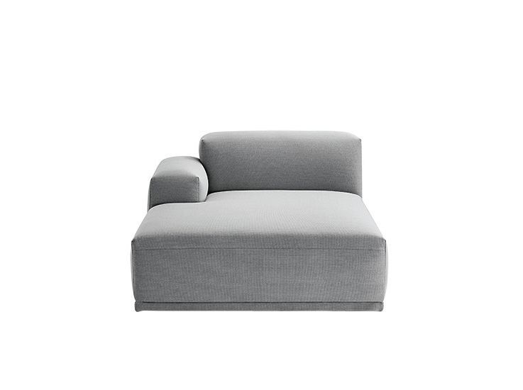 Connect Modular Sofa - Left Armrest Lounge by Muuto