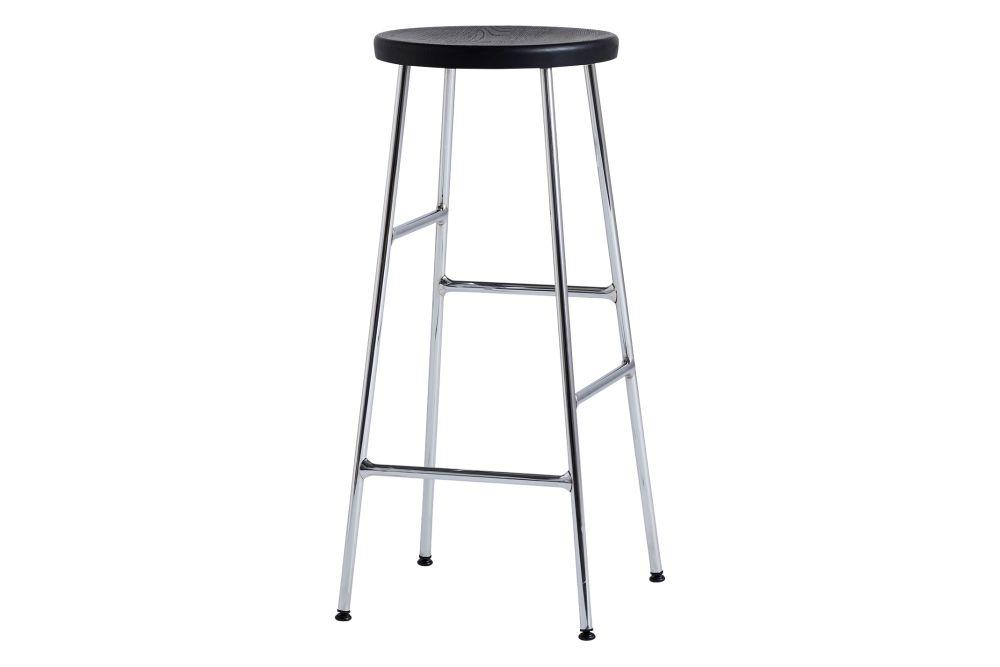 Wood Oiled Oak / Metal Soft Black,Hay,Stools,bar stool,furniture,stool