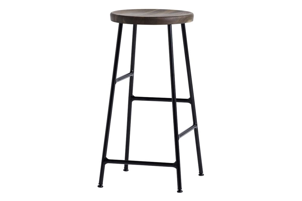 Wood Oiled Oak / Metal Soft Black,Hay,Stools,bar stool,furniture,stool,table