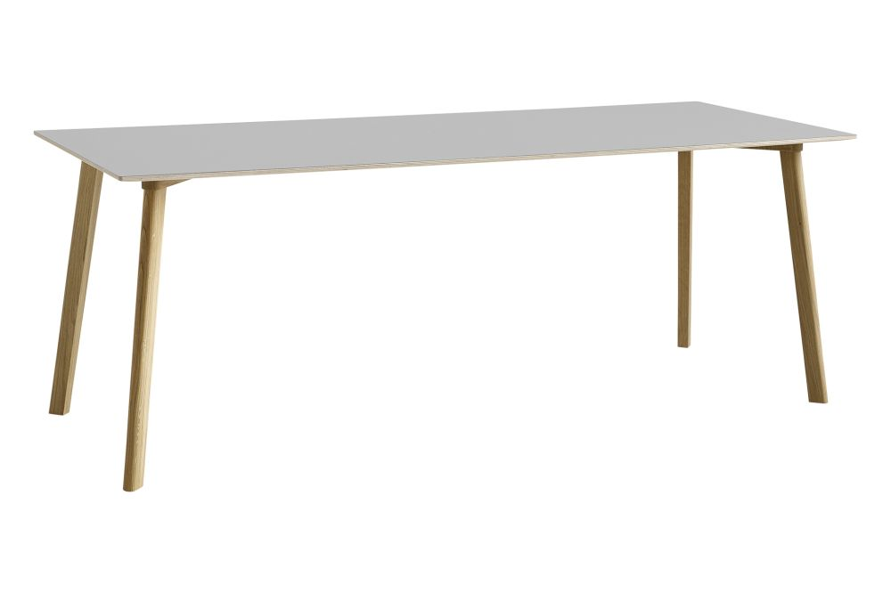 CPH Deux 210 Rectangular Dining Table by Hay