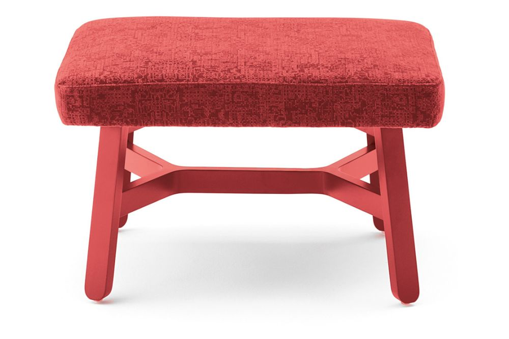 Angel Combo 101, Bianco RAL 9016,Billiani,Stools,bench,furniture,ottoman,red,stool