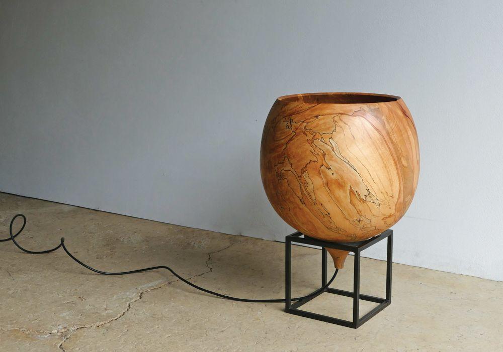 Tamasine Osher Design,Table Lamps,wood