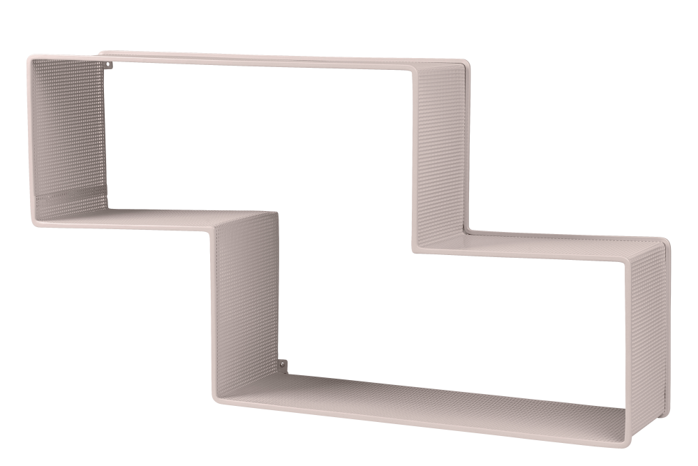 Gubi Metal White Cloud,GUBI,Bookcases & Shelves,furniture,line,shelf