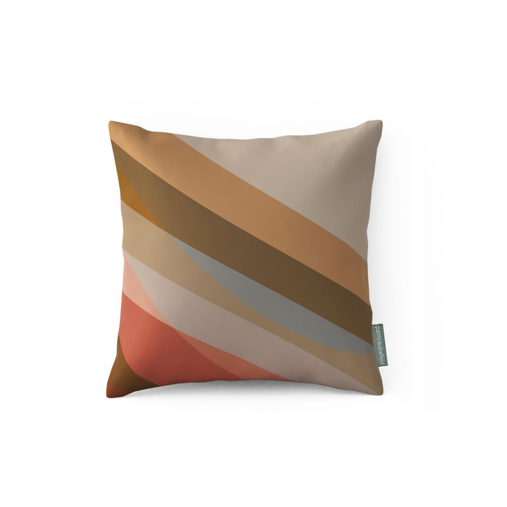 Small,Parris Wakefield Additions,Cushions,beige,brown,cushion,furniture,linens,orange,pillow,rectangle,textile,throw pillow,turquoise