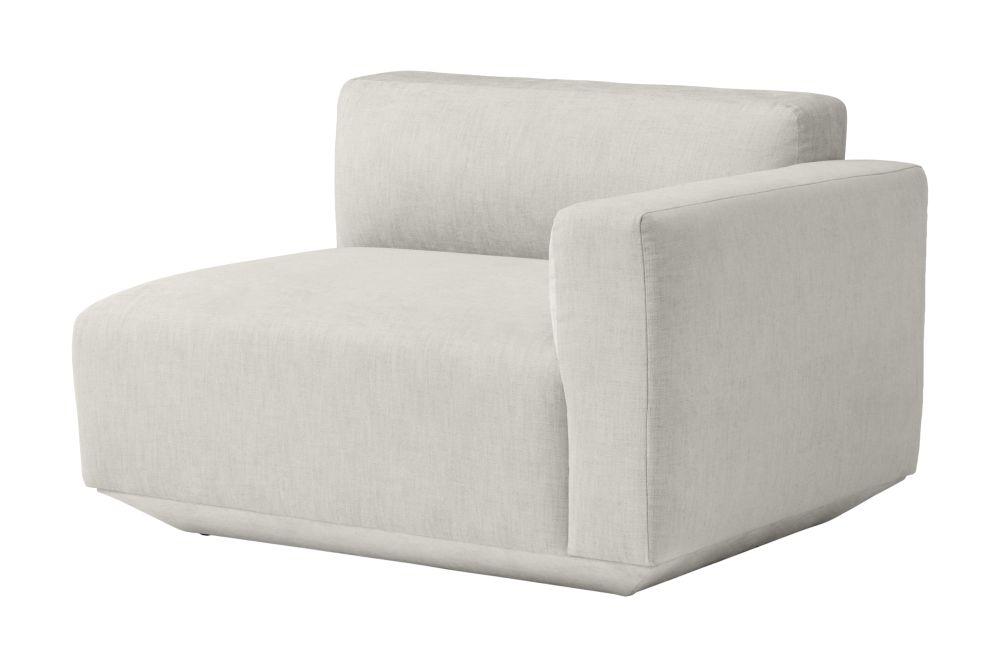 Develius Modular Sofa - EV1B Right Armrest by &Tradition