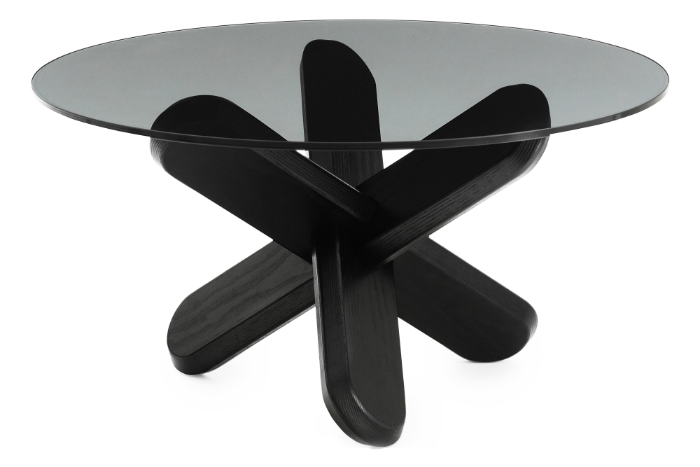 Smoke, NC Black Lacquered Wood,Normann Copenhagen,Coffee & Side Tables,coffee table,furniture,table