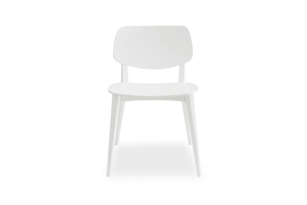 Bianco RAL 9016,Billiani,Dining Chairs,chair,furniture,white