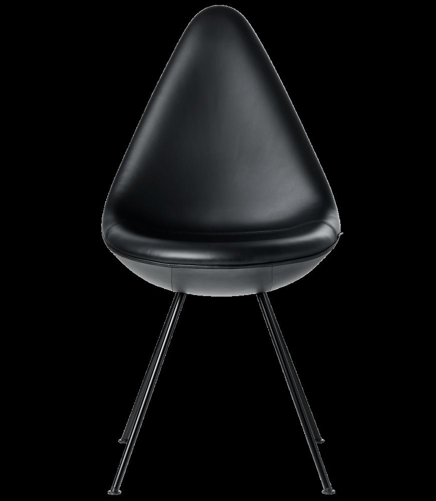 Drop Black Edition Chair by Fritz Hansen