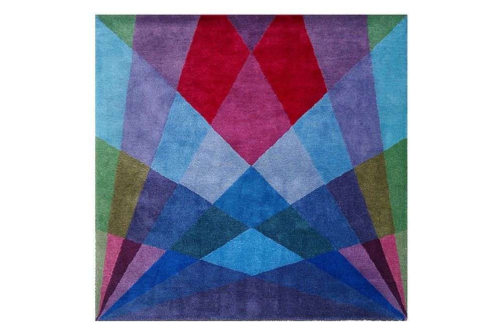 Square,Sonya Winner Studio,Rugs,magenta,patchwork,pattern,purple,rectangle,teal,textile,triangle,turquoise,violet