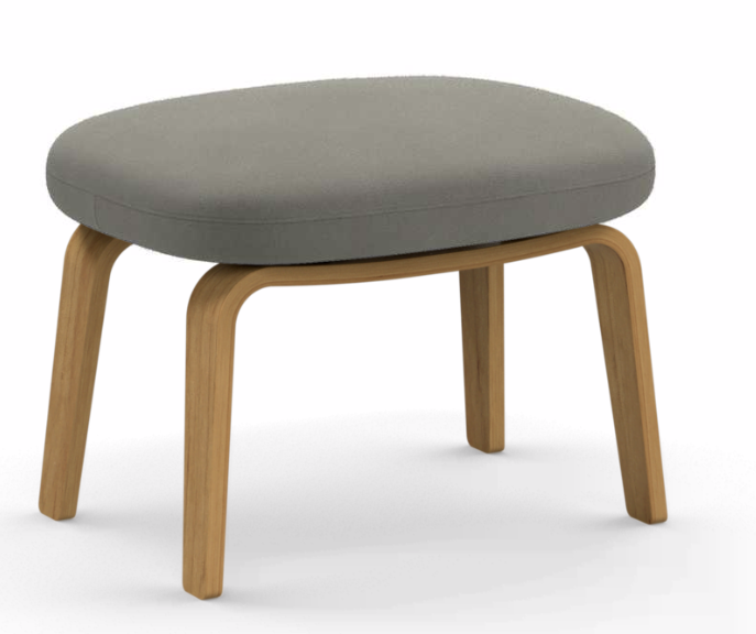 Fame, Black Lacquered Wood,Normann Copenhagen,Footstools,furniture,stool,table