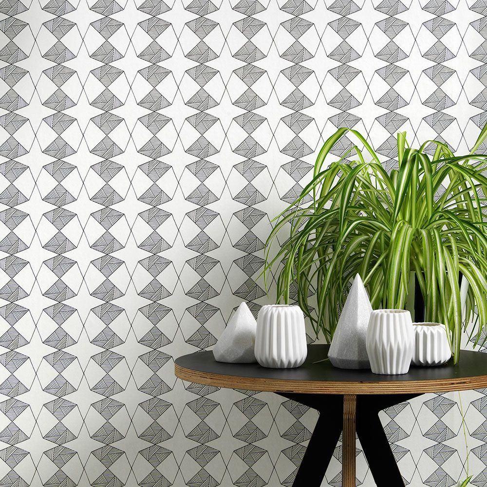 Order A Roll,Sian Elin ,Wallpapers,floor,flowerpot,green,room,table,textile,tile,wall,wallpaper