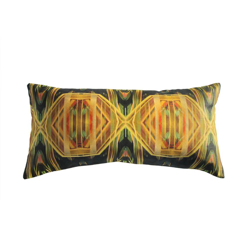 Forget Me Not Rectangular Cushion by Parris Wakefield Additions