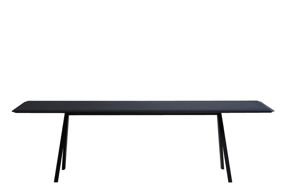 Black Ash, Large,Boewer,Dining Tables,coffee table,desk,furniture,line,outdoor table,rectangle,table