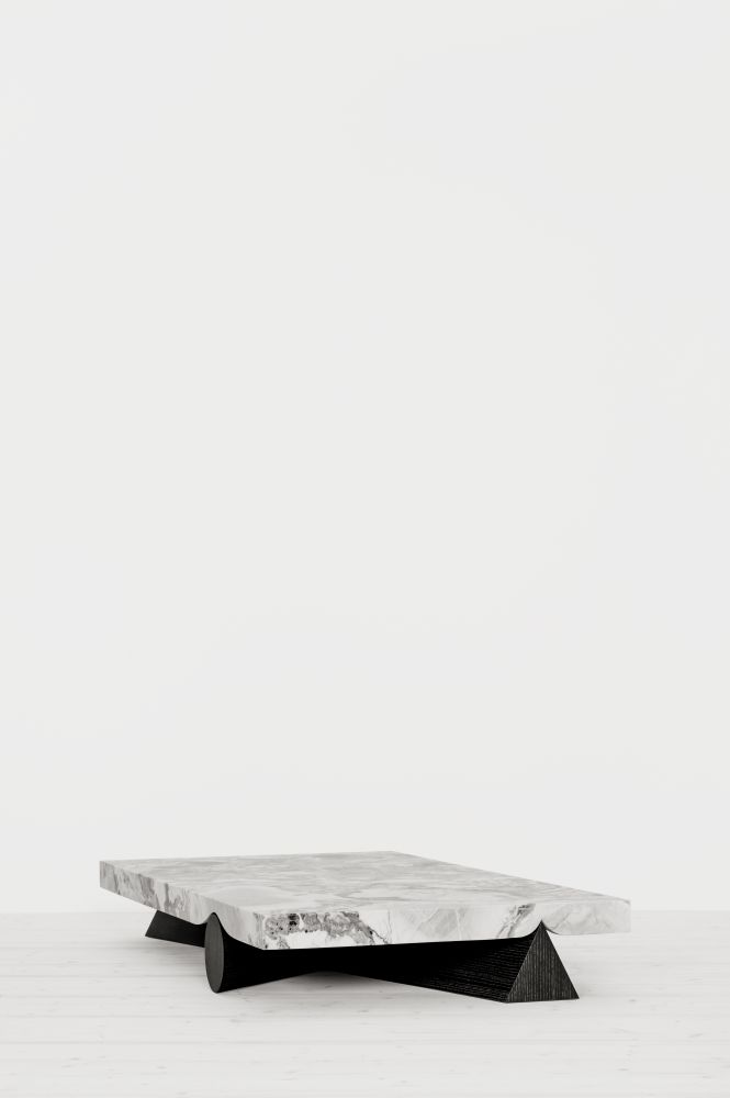 Christophe Delcourt,Coffee & Side Tables,table,white