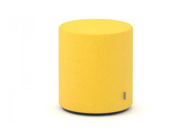 D40 x H45, DNN D85,Narbutas,Breakout Poufs & Ottomans,cylinder,orange,yellow