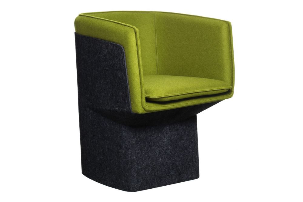 Glove Easy Chair by Swedese