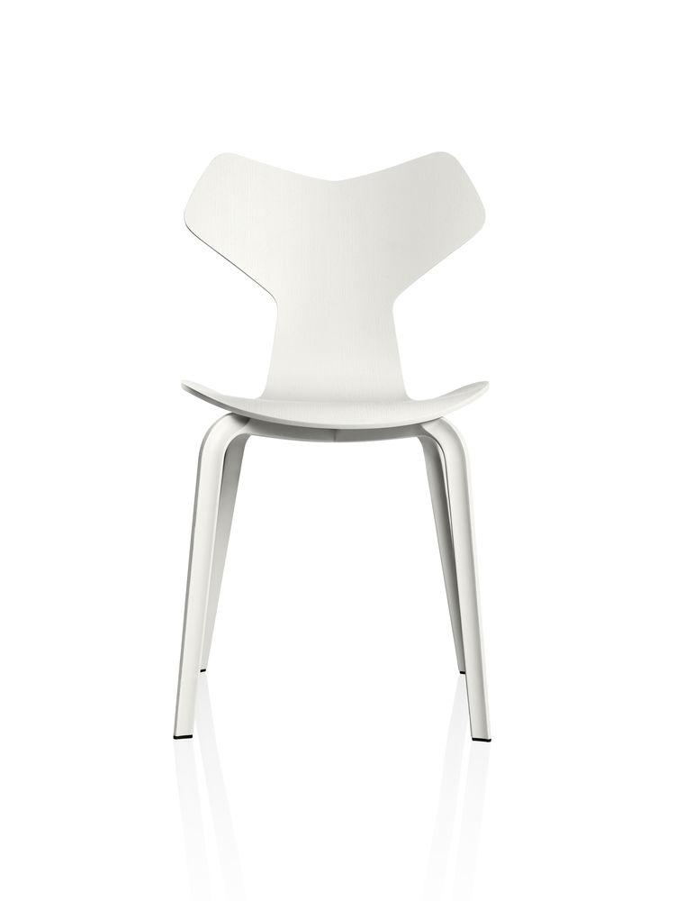Grand Prix Wooden Chair by Fritz Hansen