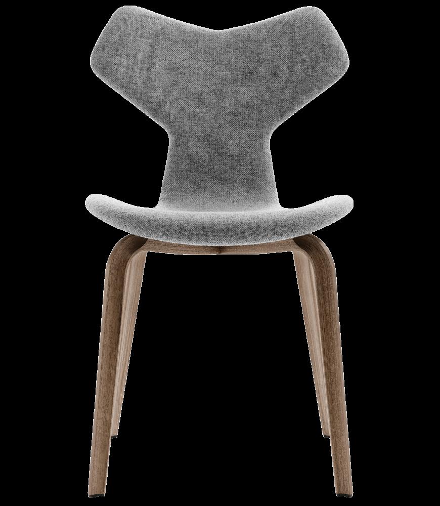 Gran Prix Wooden Legged Chair - Fully Upholstered by Fritz Hansen