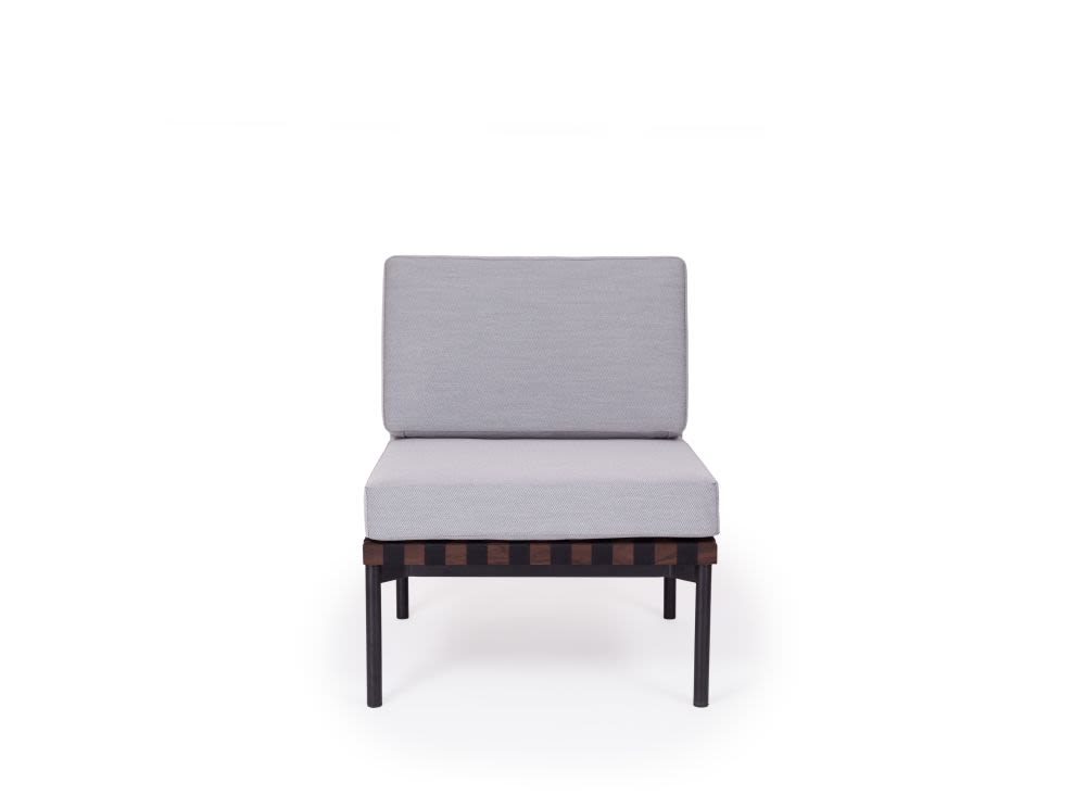 Grid - Armchair without Armrests by Petite Friture