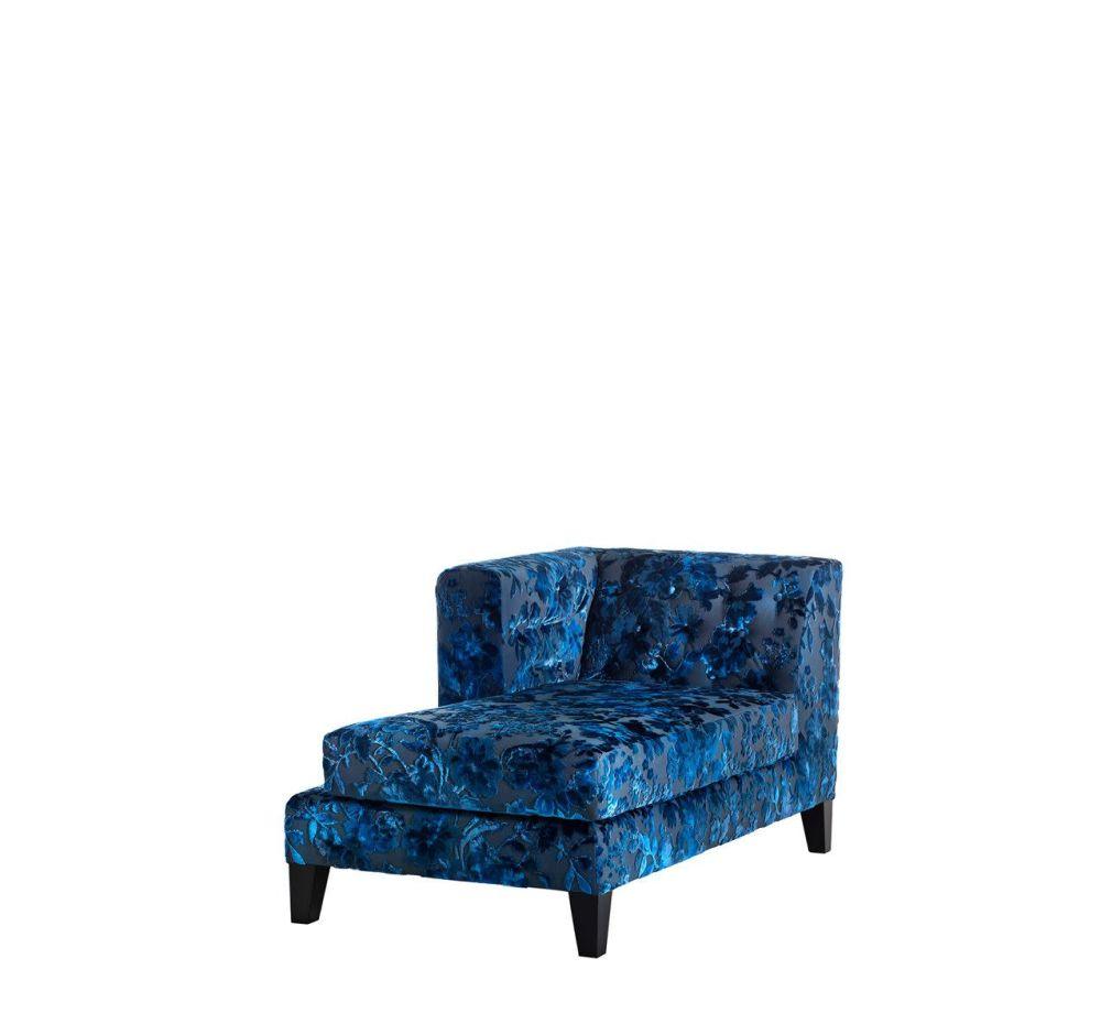 Cairo - Bordeaux 11, Right,Driade,Seating,blue,chair,club chair,couch,furniture,futon