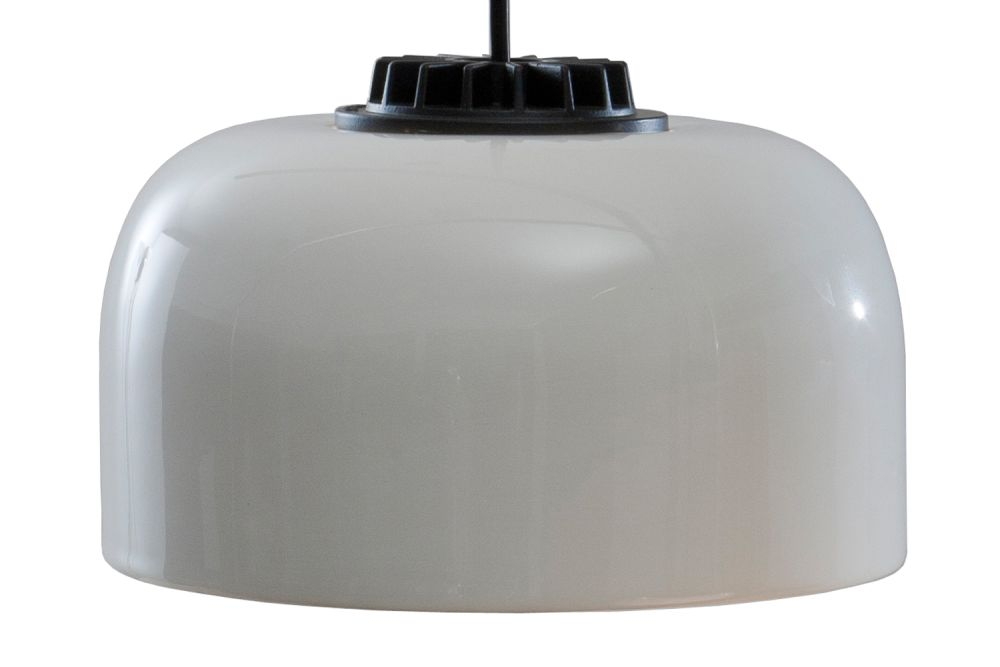 Small, Black - Not Dimmable, White ceramic, 300,Santa & Cole,Pendant Lights,ceiling,lampshade