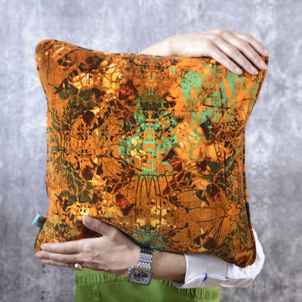 Henry,Blackpop,Cushions,cushion,furniture,linens,orange,pillow,textile,throw pillow