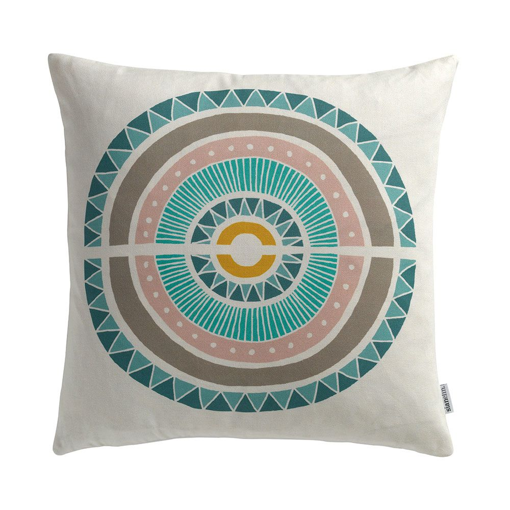 Cover Only,Sian Elin ,Cushions,aqua,cushion,furniture,pillow,teal,textile,throw pillow,turquoise